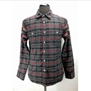 Howe Shirts - Howe Mens Casual Button Down Shirt Size M Medium